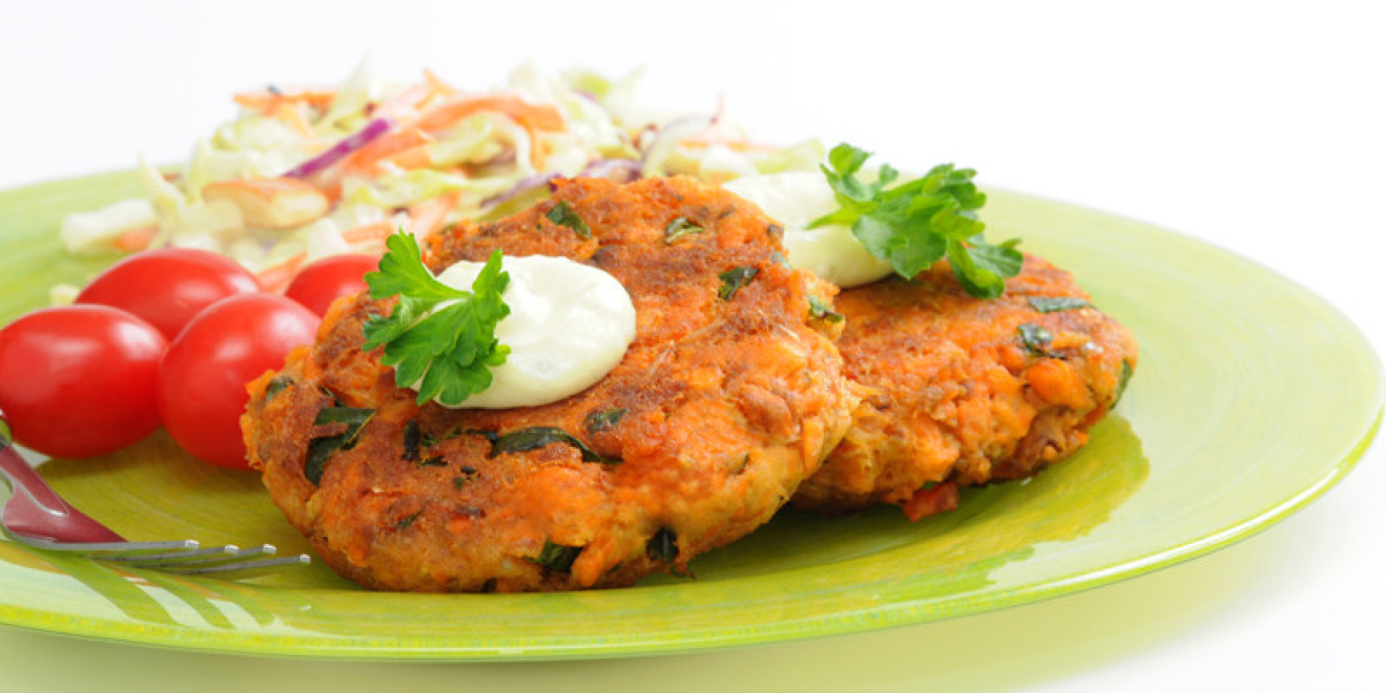 Easy Healthy Salmon Cakes Recipe